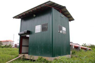The University of Guyana's pump house