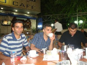 Shadi wants to go back to Palestine and start a magazine with his two friends. photo courtesy of Shadi Dar Khalil. 2011