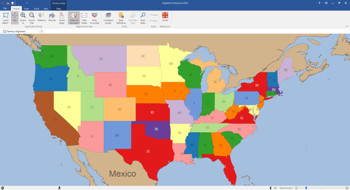State Based Sales Territory Alignment