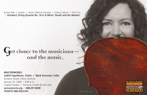 Wisconsin Chamber Orchestra MasterWorks series direct mail campaign