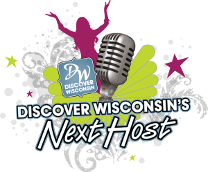 Discover Wisconsin's Next Host Audition Event Logo