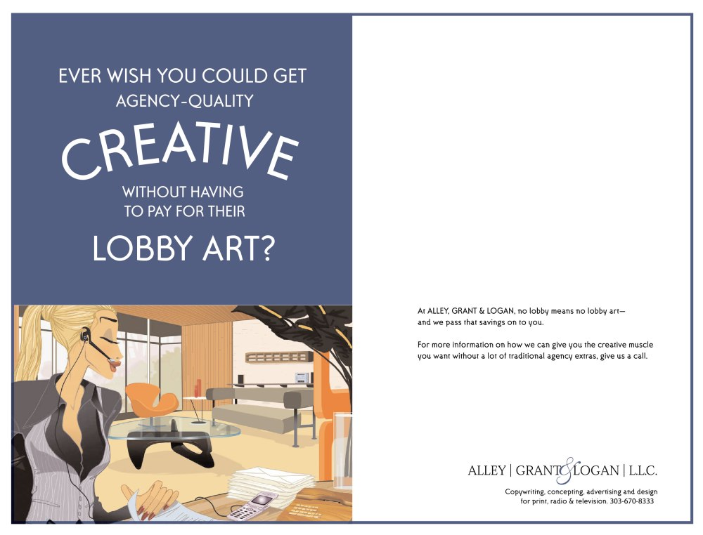 Alley Grant and Logan print campaign
