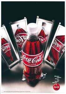 A print ad for Coca Cola.