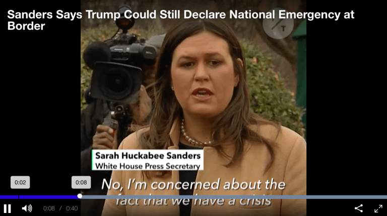 Declaring A National Emergency Could Give Trump Authority To Shutdown Your Bank Account (#GotBitcoin?)