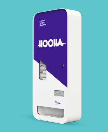 Time To Upgrade The Tampon Dispenser (#GotBitcoin?)