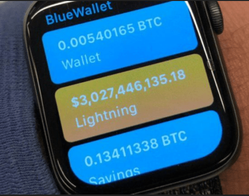 Bitcoin's Lightning Comes To Apple Smartwatches With New App (#GotBitcoin?)