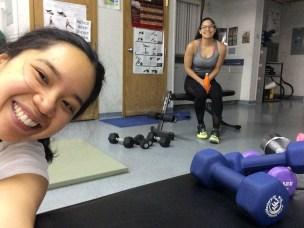Después nuestro entrenamiento para brazos