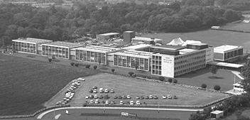 Nortel Campus in Harlow, England, 1966