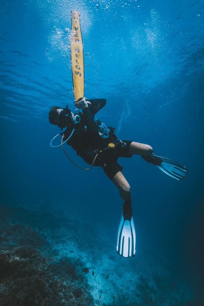 open water: curso de buceo en koh tao