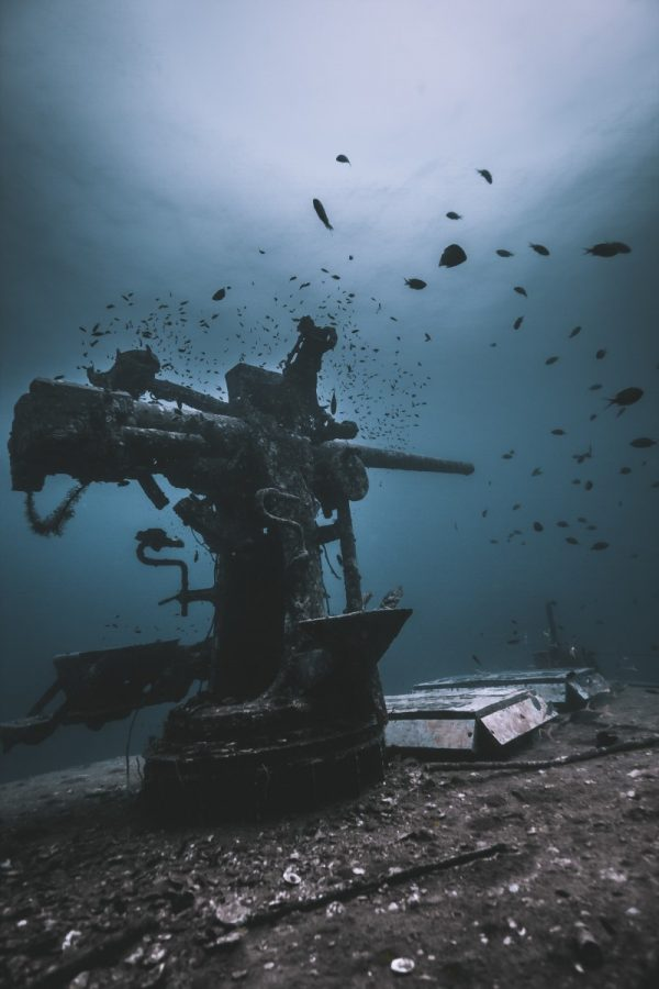 Shipwreck Koh Tao