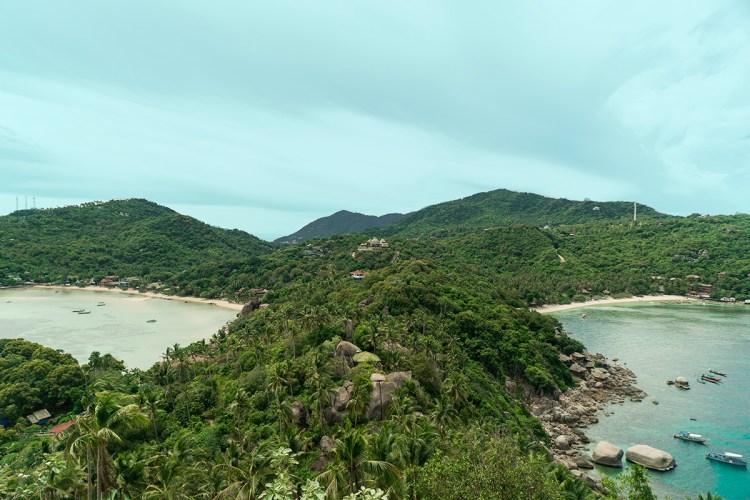 koh tao beaches: freedom beach
