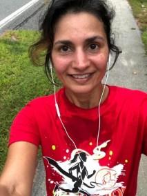 Ruta Shah did 3.72 miles!
