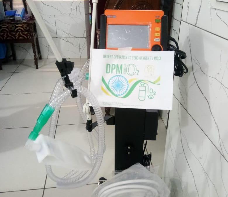 Ventilator Donated in India