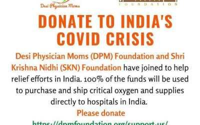 DPM Joins Shri Krishna Nidhi ( SKN ) for Covid Relief