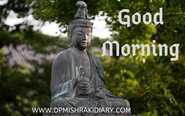 budhha Good Morning image