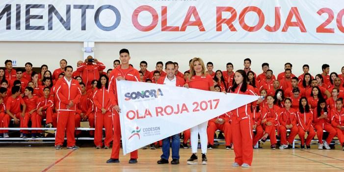 Codeson duplicará becas para atletas de la Ola Roja
