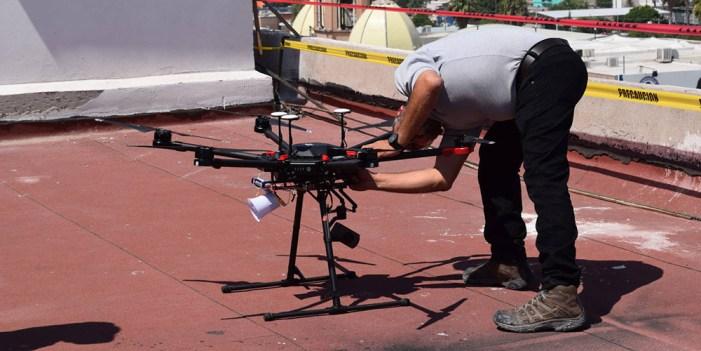 Estudiante de la UVM gana carrera de drones