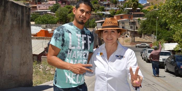 Ciudadanos apoyan a Miranda para Diputada Federal