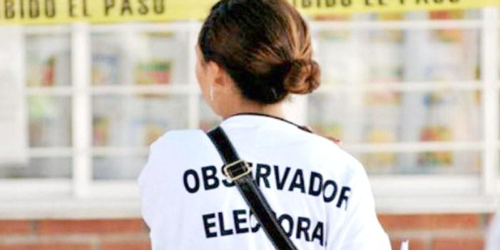 Observadores extranjeros electorales comienzan su despliegue en México