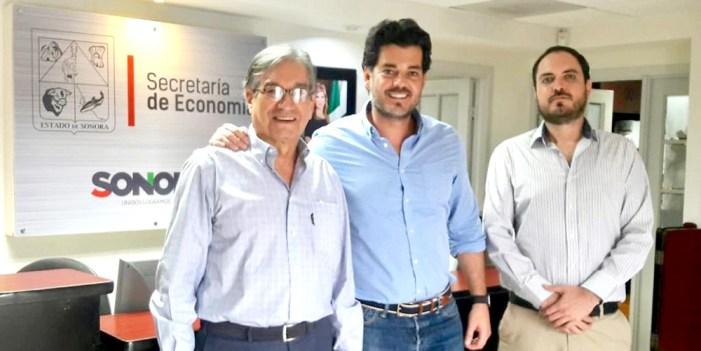 Alcalde de Nogales se reúne con Secretario de Economía
