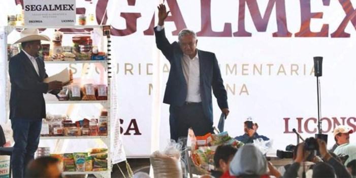 Liconsa y Diconsa se unen en pro de seguridad alimentaria: López Obrador