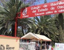 Colegio de Bachilleres de Oaxaca va a paro por recorte en presupuesto