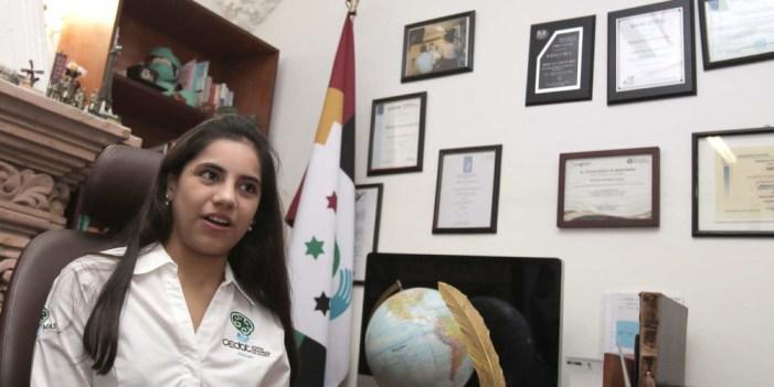 Dafne Almazán diseñará en Harvard modelo para enseñar matemáticas a niños genio
