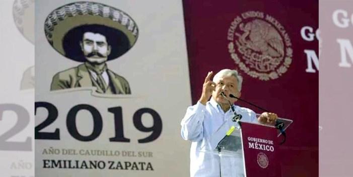 En México cerca de 12 mil vialidades llevan el nombre de Zapata