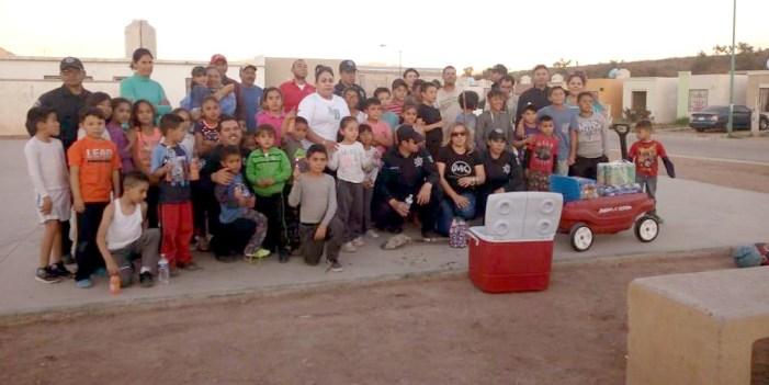 """Policía Municipal y ciudadanos realizan campaña de limpieza en """"La Mesa"""""""