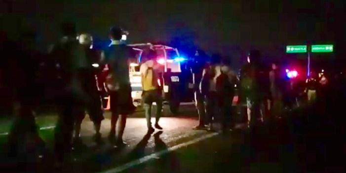 Caravana migrante se dispersa en la costa de Chiapas