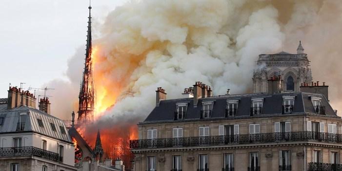 Fiscalía de París descarta hecho intencional en incendio de #NotreDame