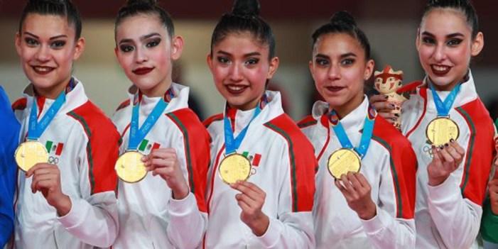 Histórico oro para México en gimnasia rítmica