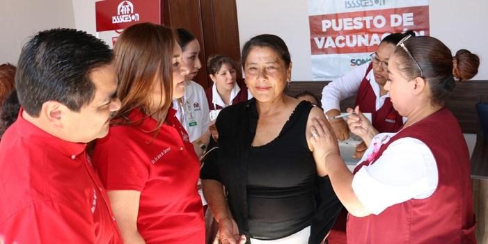 Inicia Isssteson vacunación contra Influenza