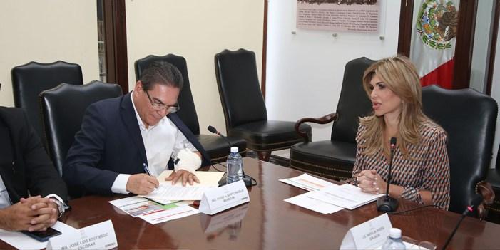 Acuerda Gobernadora-CFE apoyo especial en frontera por tarifa DAC