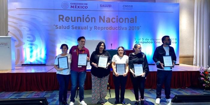 Recibe Sonora premio nacional por programa de Salud Sexual en Adolescentes
