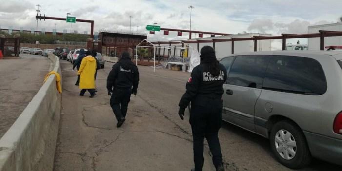 Por convenio presidencial Seguridad Pública vigila garitas de cruce internacional