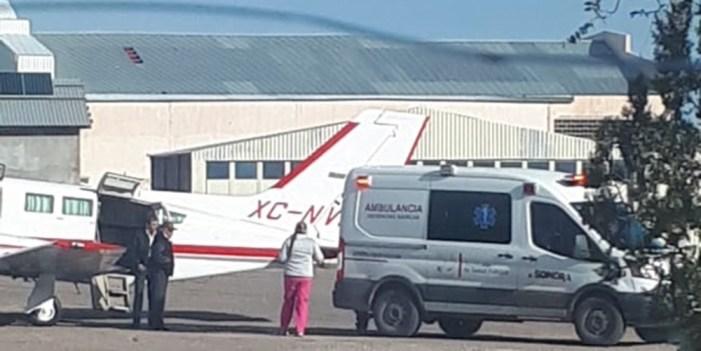 Salvan vidas de embarazadas con traslado aéreo