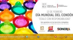 Uso de condón es necesario para jóvenes: Salud Sonora