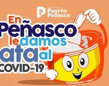 "Lanzan campaña ""En Peñasco le damos lata al Covid-19"""