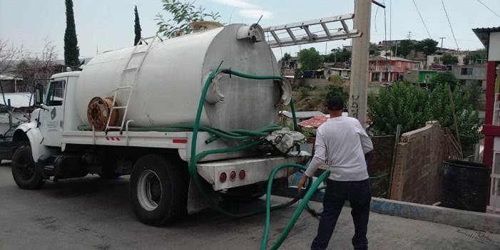Oomapas reduce suministro de agua para sector Poniente