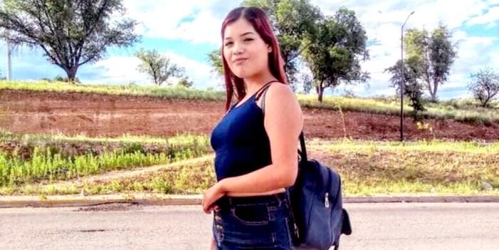 Rosa Angélica, iba con su novio