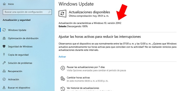 ¿Ya aplicaste Windows 10 20H2?