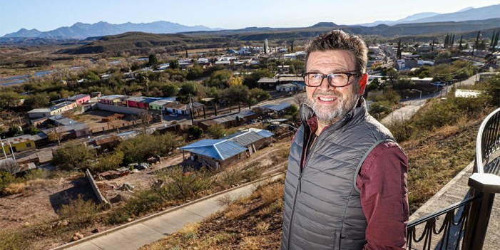 Ricardo Bours recorre Sierra de Sonora