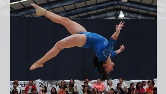 Alexa Moreno se prepara en Sonora para los juegos Olímpicos