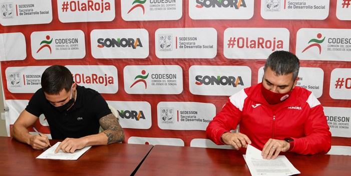 Firman convenio Codeson y fundación Óscar Valdez