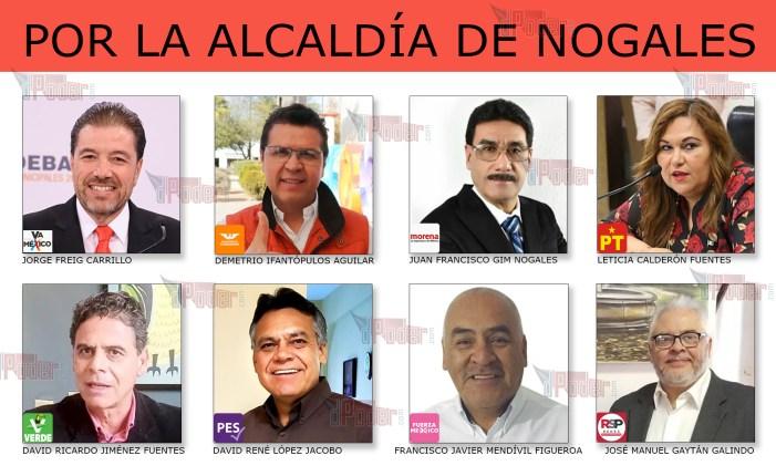 260 candidatos piden el voto en Nogales