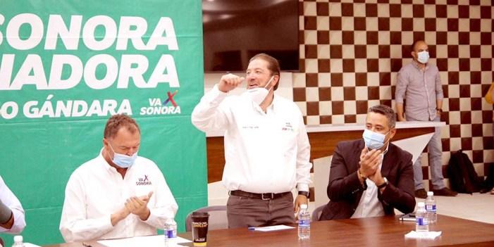 """Junto al """"Borrego"""" Gándara solucionaremos problemas de Nogales: Jorge Freig"""