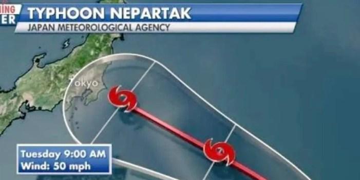 Tifón obliga a reprogramar competencias en Tokio
