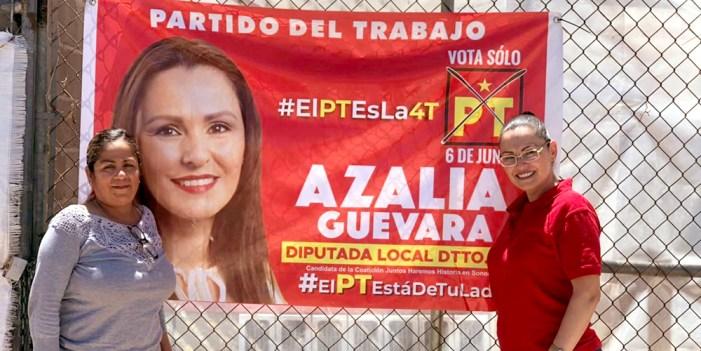 Azalia Guevara rechaza al PT