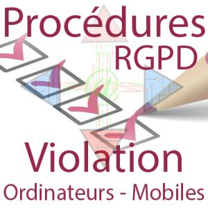 Procédure RGPD - Ordinateurs et Mobiles de l'entreprise